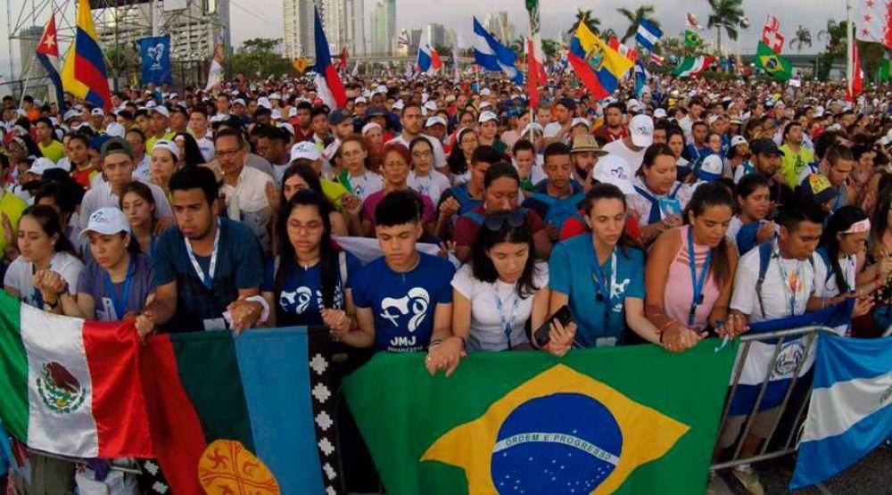 """""""Tengan el coraje de ser santos"""", exhorta arzobispo en Misa de apertura de JMJ Panamá 2019"""