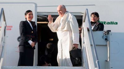 Camino a la JMJ el Papa anuncia que quiere viajar a Japón e Irak este año