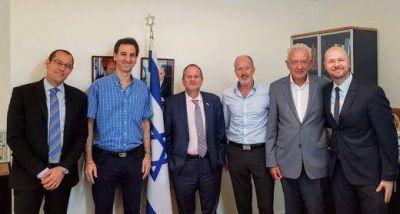 Las nuevas autoridades de la DAIA se reunieron con el Embajador de Israel Ilan Sztulman