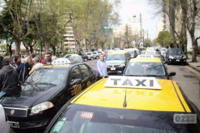 Desde las 13 del jueves no habrá taxis ni remises en Mar del Plata