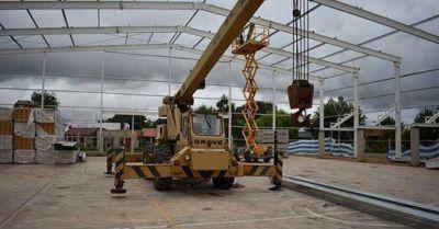 Lezama: El Municipio retoma una obra que abandono al asumir