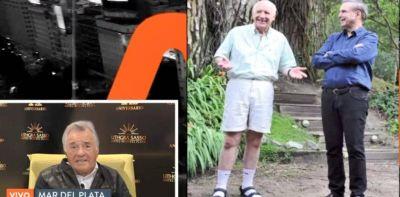"""Luis Barrionuevo: """"Vamos todos con sandalias y medias, como Lavagna"""""""