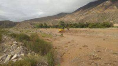Obras hídricas en Palpalá y Maimará