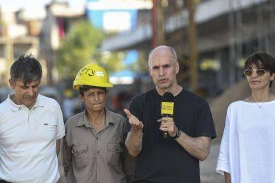 Desarrollo Humano: Larreta anunció que las obras en el ex Elefante Blanco finalizarán en mayo