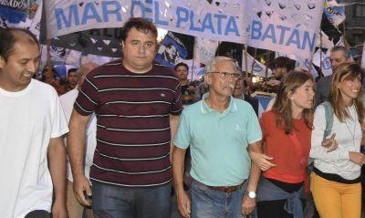 """Manino Iriart y Marcos Gutiérrez unidos en la """"pelea"""" y para decirle ¡Basta! a Macri"""