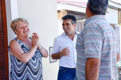 Cordón cuneta en Barrio Sur: Eran todas promesas, hasta que este año se hizo realidad