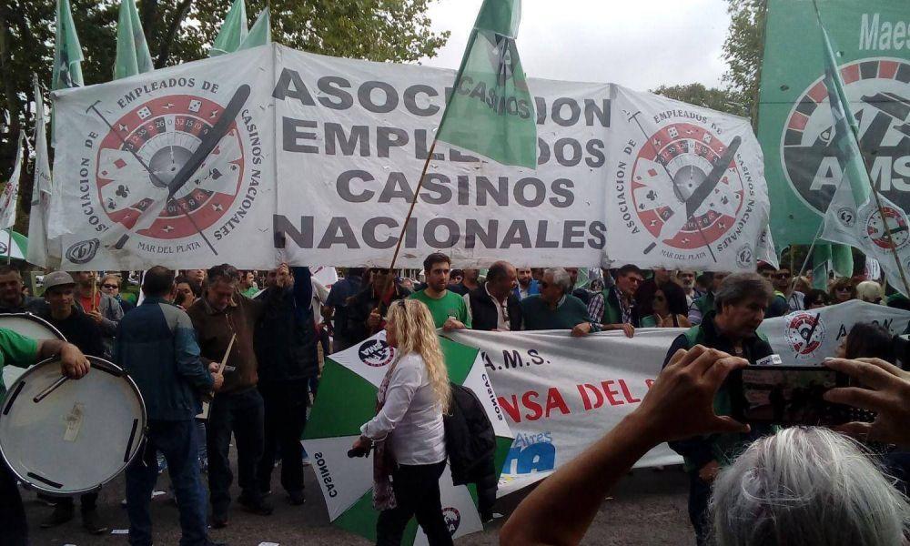Se agudiza el reclamo gremial contra el cierre que dictó Vidal para dos casinos