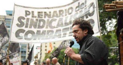 Convocan a una cumbre del sindicalismo combativo para definir medidas de fuerza