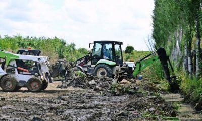 San Fernando hace operativos de mantenimiento de espacios verdes en barrios de Virreyes