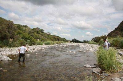 San Luis Agua realiza monitoreos de la red hidrográfica