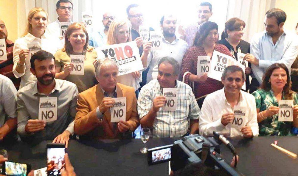 """El vicegobernador Néstor Bosetti afirmó que """"el No tiene que triunfar para defender la democracia y los procesos"""""""