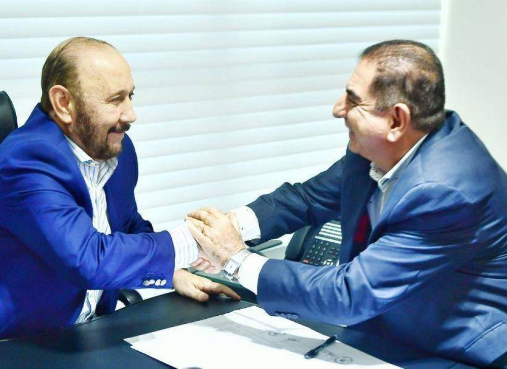 Gildo Insfrán acordó con Jofré subsidiar el transporte público de pasajeros que beneficia a 60 mil formoseños