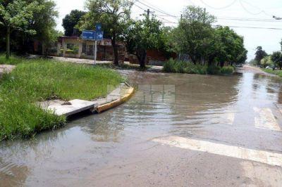 Salud ambiental: Se formó una laguna de agua cloacal en Villa San Martín