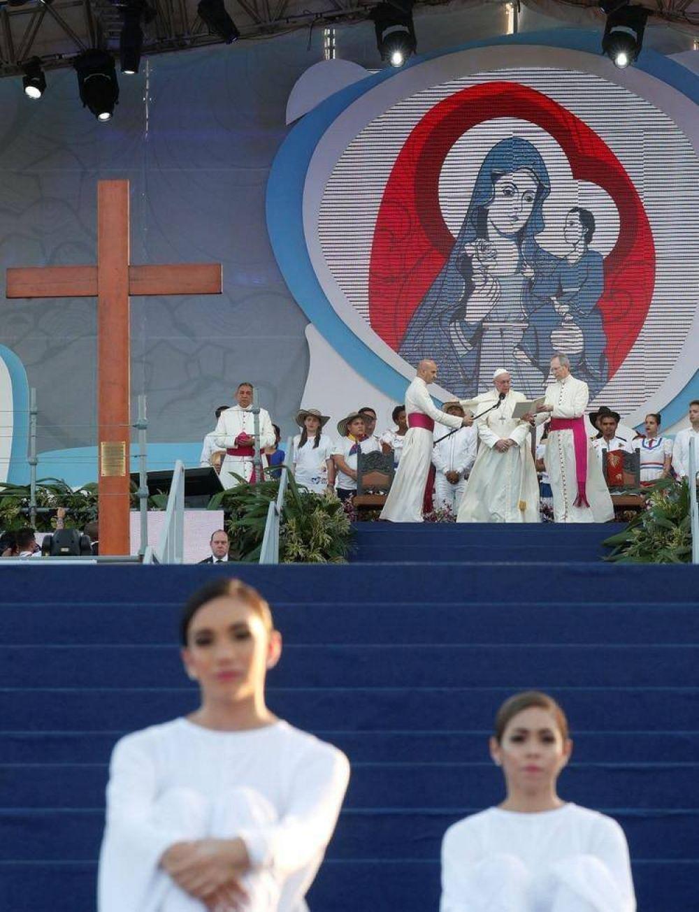 En Panamá, el papa Francisco le hablará a la comunidad religiosa en medio de los escándalos sexuales de la Iglesia