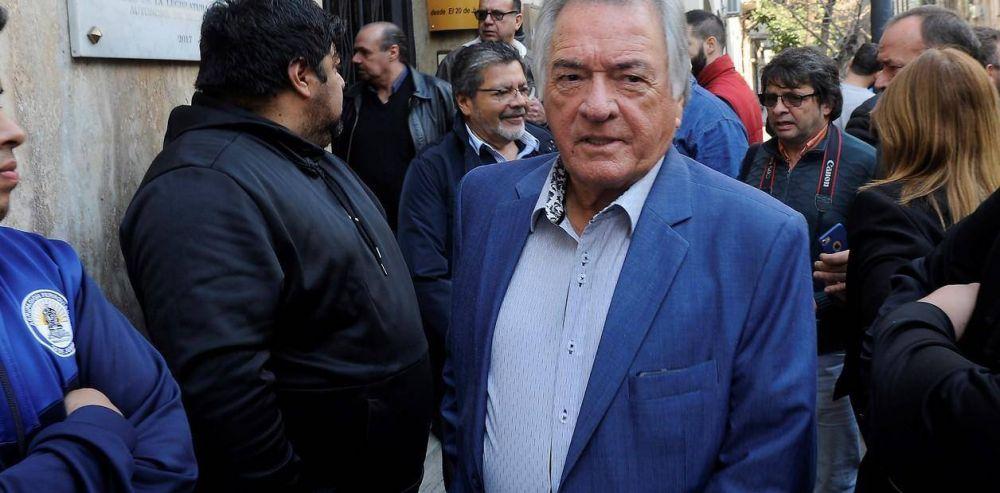 """Luis Barrionuevo: """"Estamos convencidos de que el candidato es Roberto Lavagna"""""""