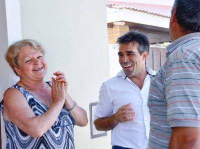 "Cordón cuneta en Barrio Sur: ""Eran todas promesas, hasta que este año se hizo realidad"""