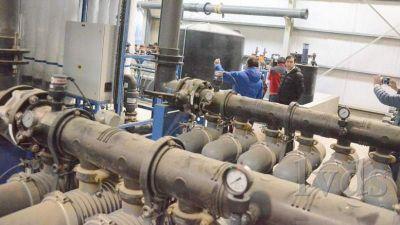 La Provincia quiere que la planta la termine Tamburo y no la municipalidad