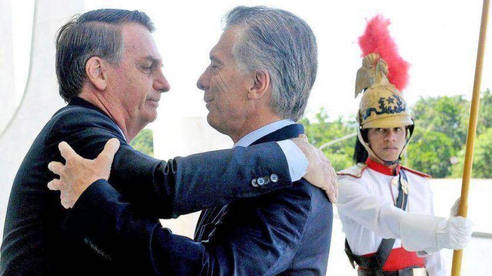 Bolsonaro, una suerte para Macri