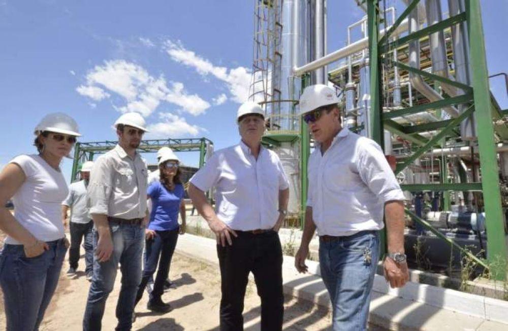 """""""Reconforta ver producción petrolera"""""""