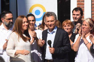 """Macri y Vidal visitaron el ex Emhsa en la recta final de su puesta en valor: """"Fueron 10 años de desidia y abandono"""""""