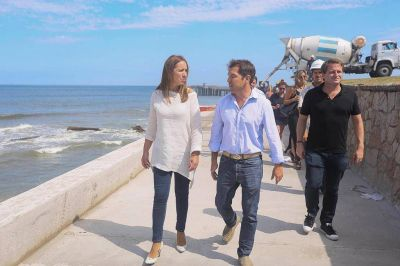 Vidal tuvo una intensa agenda de actividades en Mar del Plata