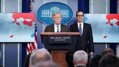 EEUU anunció el bloqueo de USD 7.000 millones en activos de la petrolera venezolana PDVSA