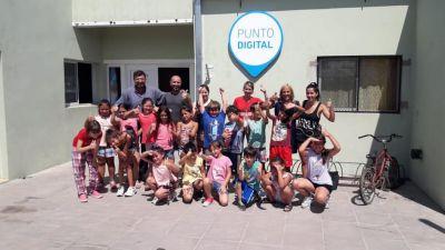 Mayol visitó el centro integrador comunitario