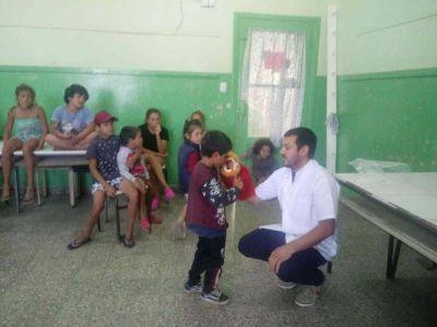 En Escuelas Abiertas en Verano se intensifican charlas sobre salud bucal