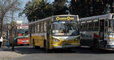 Choferes de cinco líneas paralizaron el servicio en Jujuy