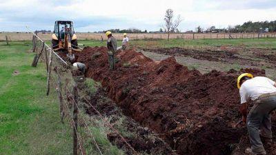 La provincia invirtió más de $ 114 millones en obras de agua y cloacas para el departamento General López