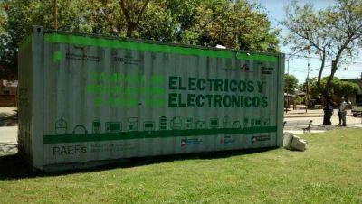 Realizan recolección de residuos electrónicos en Chacabuco