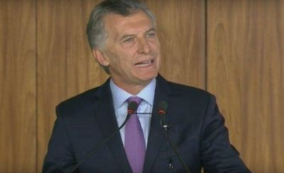 Mauricio Macri hizo lobby contra un sindicato e instaló el tema en un medio de Chubut