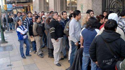 Las expectativas de empleo están en el peor nivel desde 2009