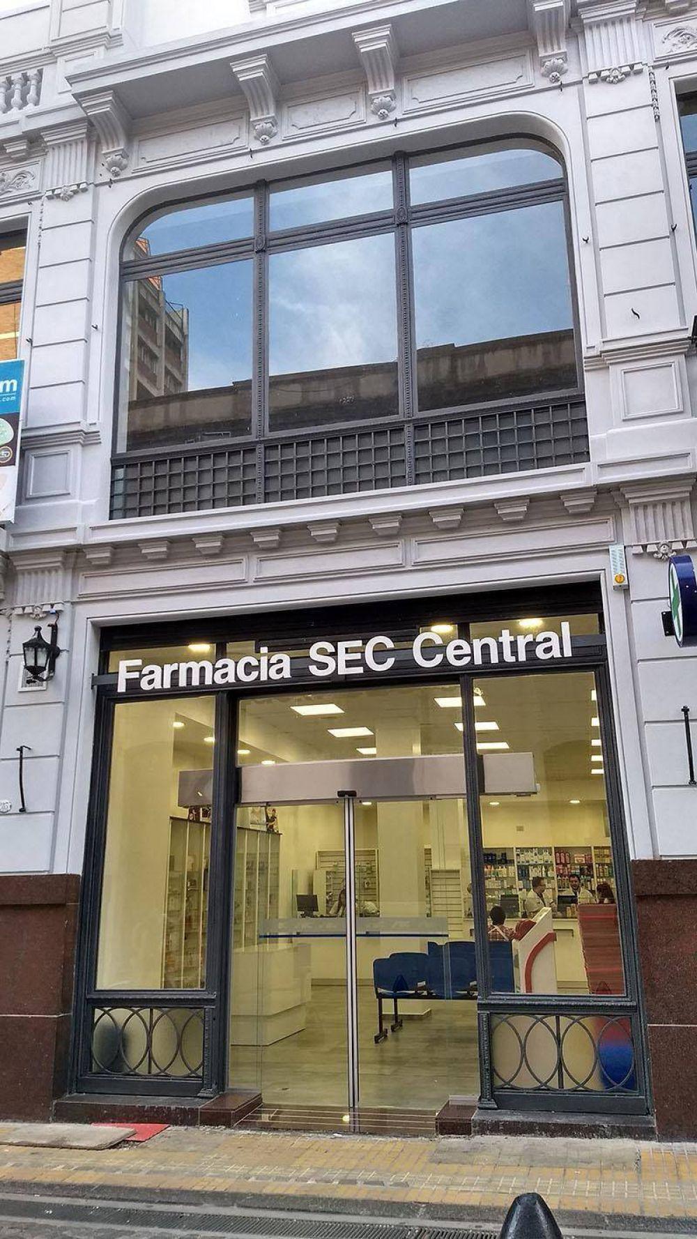 Abrió la nueva farmacia del SEC Capital