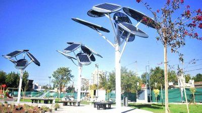 Árboles solares para ciudades sustentables en México, en Argentina y en Israel