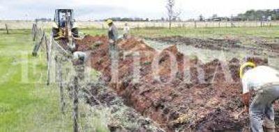 Invierten más de $ 114 millones en obras de cloacas en General López