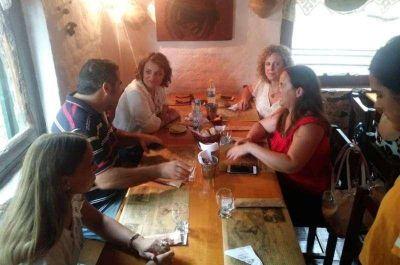 La diputada del Frente Renovador Marcela Passo visito la ciudad