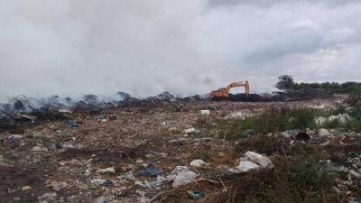 CHASCOMÚS: Finalmente se logró contener el incendio del basural