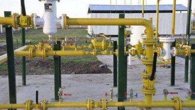 Aiola inauguró el gas en Rawson: