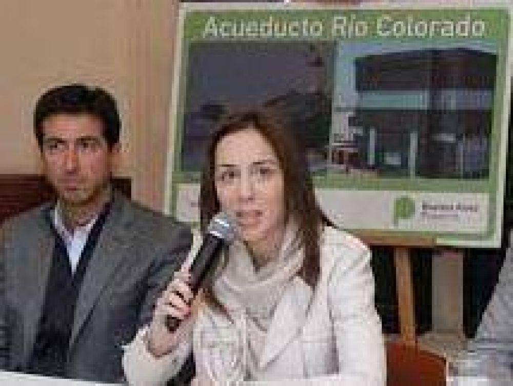 Todos los años una historia... Vidal puso nuevo obstáculo para realizar el acueducto del Río Colorado