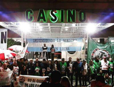 Nueva movilización contra el cierre del Casino de Necochea