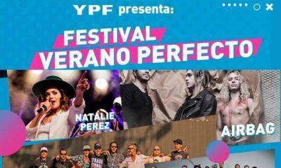 El Festival Verano Perfecto de YPF tendrá este fin de semana un cierre de lujo