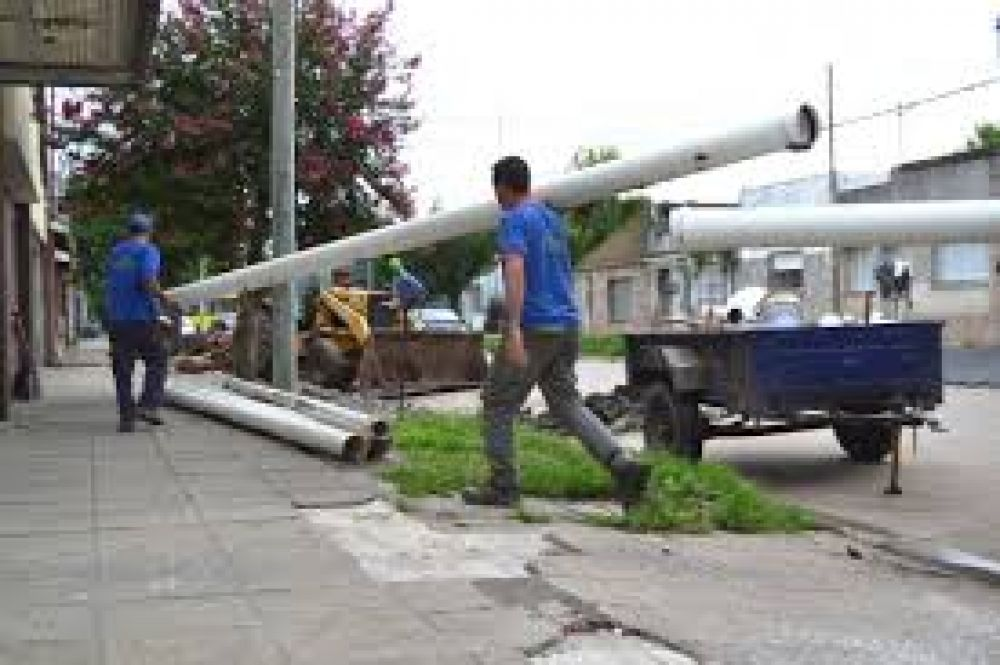 Santo Tomé: reconstrucción de la cañería de cloacas en calle Avellaneda