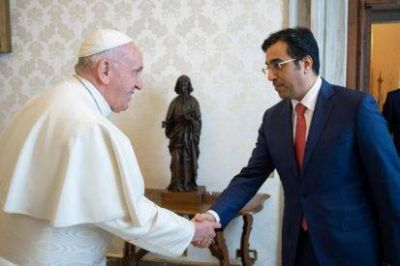 Qatar: El Papa recibe al presidente del Comité Nacional de Derechos Humanos
