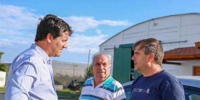 Para Maxi Abad, hay que potenciar una política de apoyo municipal a la producción local