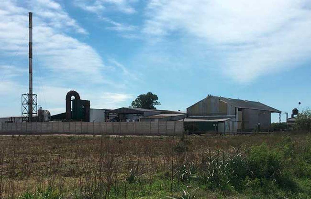 Se produjo un incendio de residuos industriales en Pelco