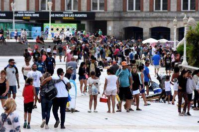 El esperado aumento de turistas por la suba del dólar, todavía no se sintió en Mar del Plata