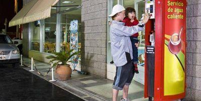 Desde ahora, la recarga de agua caliente para el mate en estaciones de servicio será gratuita