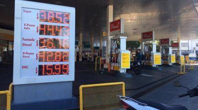 Shell aumentó este domingo sus naftas un 2,09%