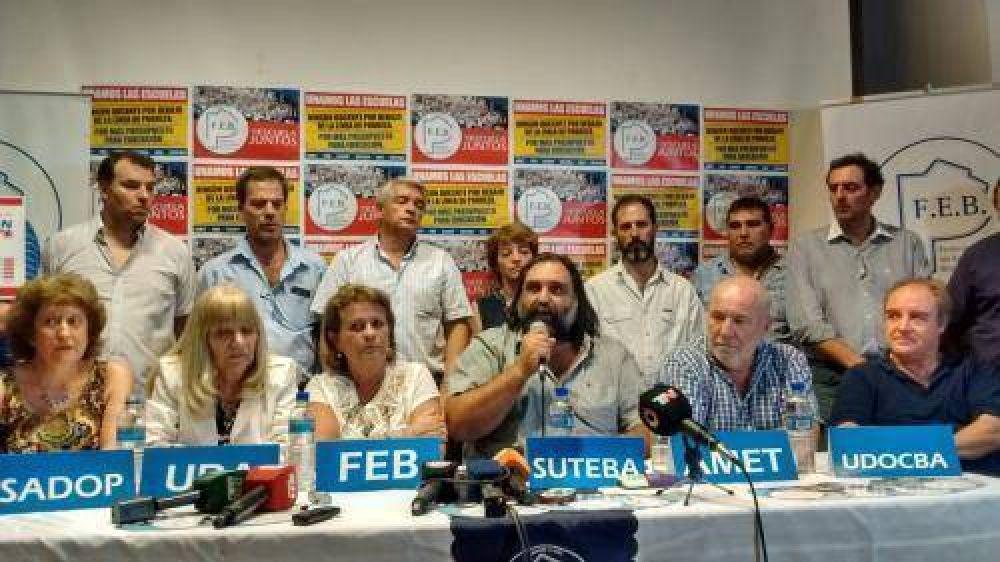 Carta documento: los docentes bonaerenses le exigen a Vidal paritarias en 48 horas
